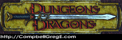 Dungeons And Dragons Greg Campbell Game Designer