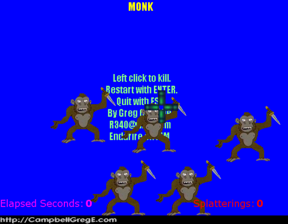 Monk: Starting Out Slowly